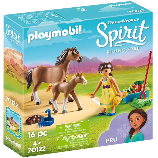 Playmobile Spirit Pru sa konjima